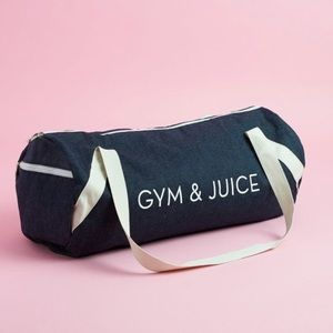 New private party gym and juice bag
